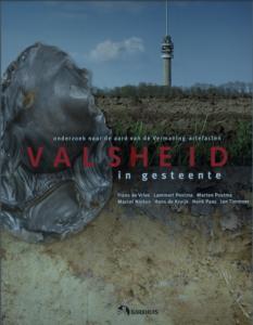 Cover van Valsheid in gesteente